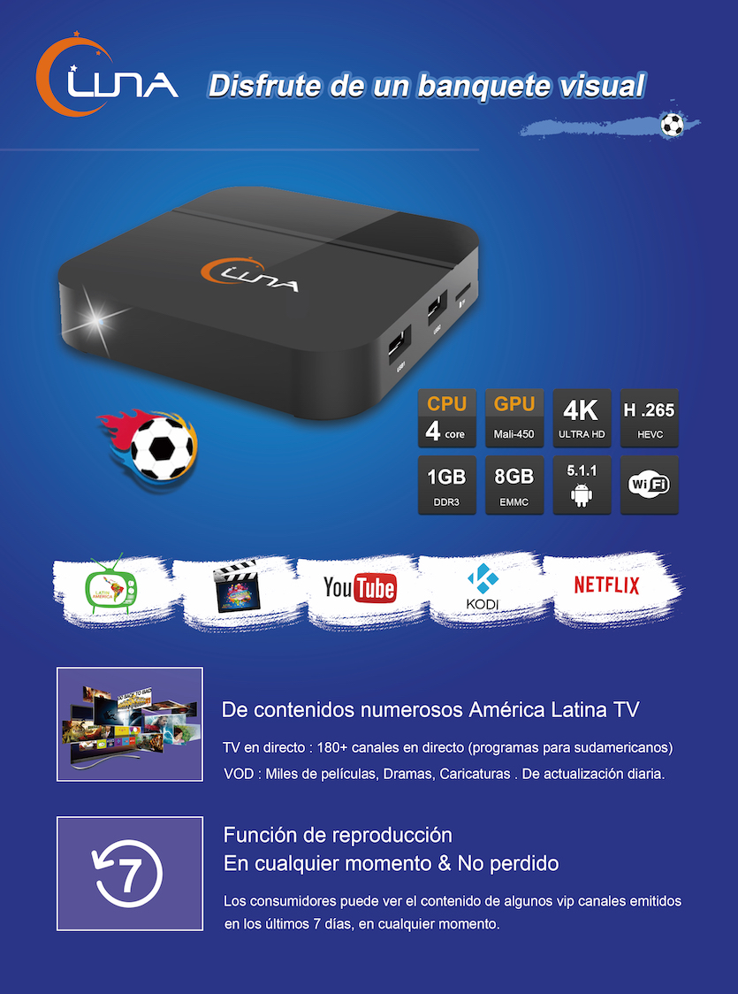 Resultado de imagem para Luna TV Ultra HD 4K